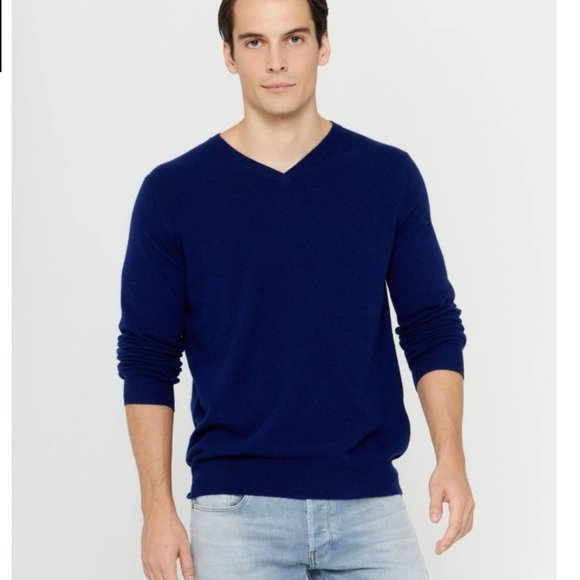 Jos. A. Bank Other - NEW Men's Navy Wool Pullover Sweater